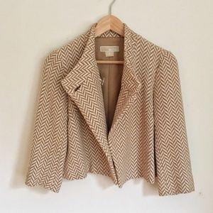 Michael Kors Textured Crop Blazer Jacket HW2915